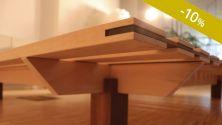 Solide Tischlerarbeit, produziert in Deutschland.
