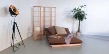 Bett Layti als Sofa in Sitzposition - (Futon ist nicht im Lieferumfang enthalten)