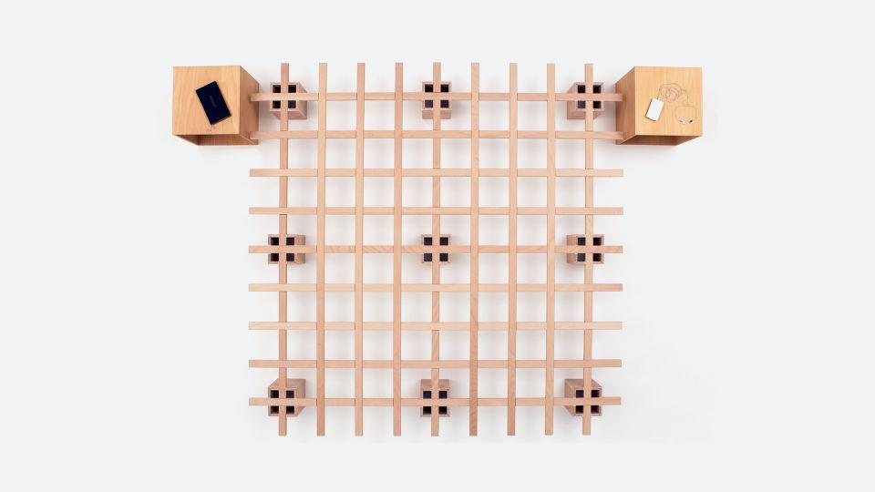 Bett System - Junges Design, einfach und funktional