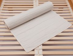 Matratzenschoner Kokos, bio - Farbe kann variieren.